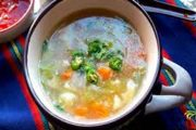 Hot hot soup in the winter